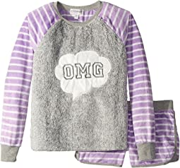 P.J. Salvage Kids - OMG Pajama Set (Big Kids)