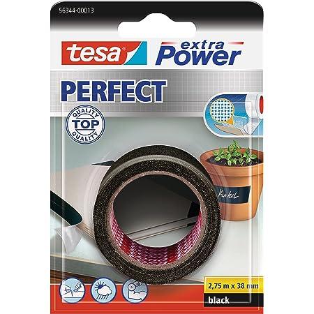 Tesa 56344-00013 - Cinta, 2.75 mx 38 mm, color negro