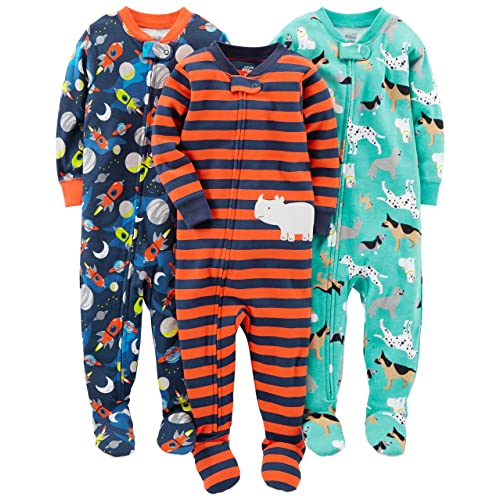e32c331c8cde Footed Baby Pajamas  Amazon.com