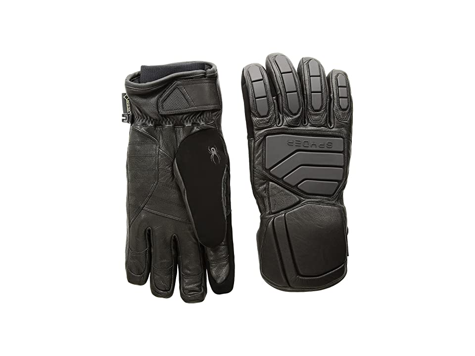 Spyder B.A. Gore-Tex(r) Ski Gloves (Black/Black) Ski Gloves