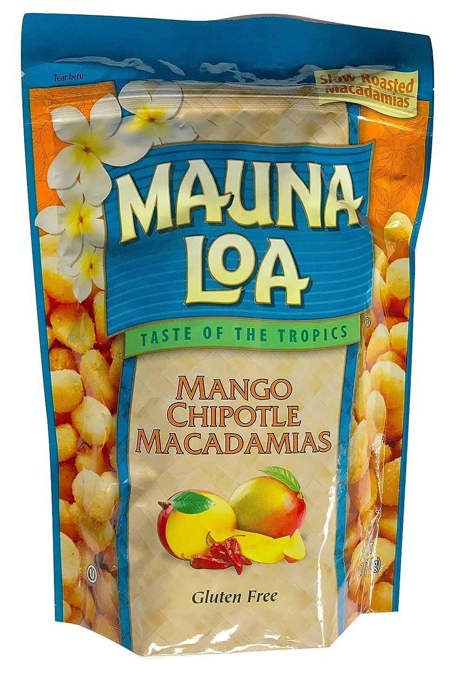 Mauna Ranking TOP4 Loa Max 57% OFF Hawaiian Roasted Macadamia 10 Nuts Mango Chipotle Ou