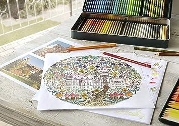 Faber-Castell Polychromos Artists' Color Pencils - Tin of 120 Colors - Premium Quality Artist Pencils