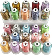 variegated machine quilting thread
