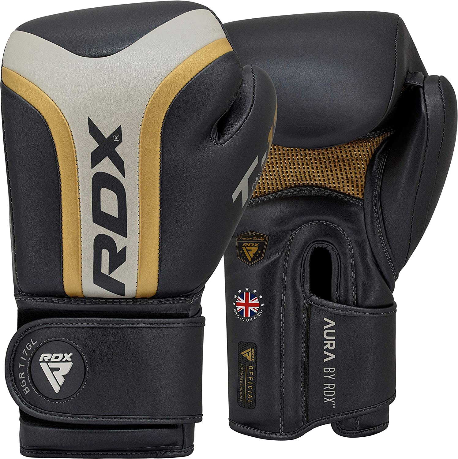 RDX Max 62% OFF Boxing Gloves for security Training Muay Thai Glov Hide Maya Leather