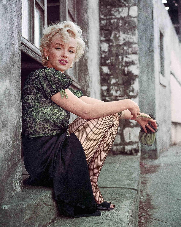 Max 48% OFF Marilyn Monroe poster. The Hooker 1956 Vintage art Sitting San Jose Mall LA