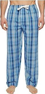 [ジョッキー] Jockey メンズ Fancy Chambray Plaid Sleep Pants パジャマ Medium Blue LG [並行輸入品]