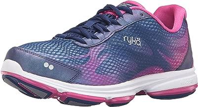 Ryka Women's Devo Plus 2 Walking Shoe, Blue/Pink, 7 M US
