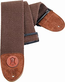 Levy's Leathers MSSC4-BRN Cotton Bass Guitar Strap, Brown