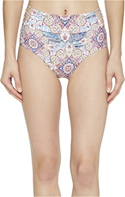 Luli Fama - Azucar Delicia Braided Sides High Waist Bikini Bottom