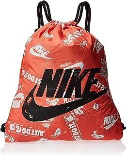 Nike Unisex-Adult Gym Sack, Orange/Black - NKBA6011