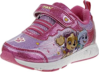 Nickelodeon Paw Patrol Girls Light Up Lightweight Sneakers (Toddler/Little Kid)