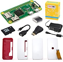 CanaKit Raspberry Pi Zero W (Wireless) Complete Starter Kit - 16 GB Edition