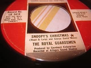 1967 It Kinda Looks Like Christmas/Snoopy's Christmas Vinyl 45 RPM Record