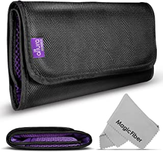 6 Pocket Filter Wallet Case for Round or Square Filters + Premium MagicFiber Microfiber Cleaning Cloth