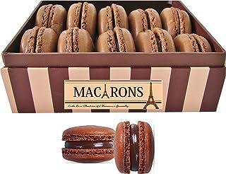 LeilaLove Macarons - 15 Chocolate lovers Macarons collections Dark chocolate,salted milk chocolate