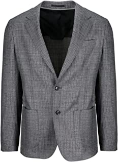Z Zegna Luxury Fashion Mens 6548061DNMG08 Grey Blazer   Fall Winter 19