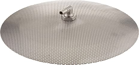 Chill Passion Stainless Steel Domed False Bottom, Select a Size (12