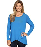 Karen Kane - Long Sleeve Asymmetrical Hem Top