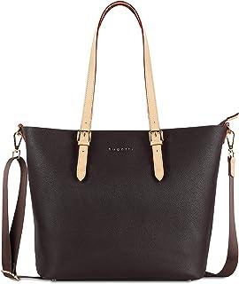 bugatti Ella Shopper Handtasche Damen Groß, Damenhandtasche Schultertasche
