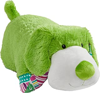 Pillow Pets Colorful Lime Green Puppy - 18