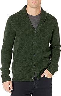 Goodthreads Mens Lambswool Long-Sleeve Shawl Collar Cardigan Sweater