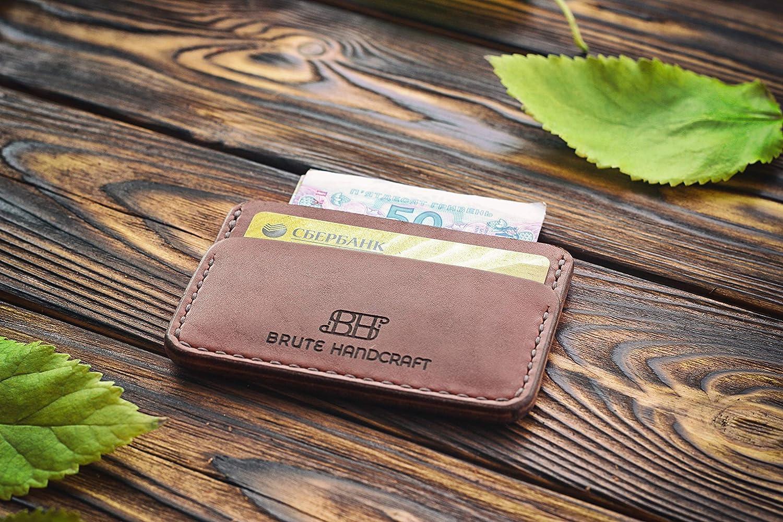 Personalized Leather Max 44% OFF Credit Regular dealer Holder Card