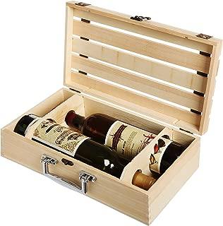 wine bottle box design