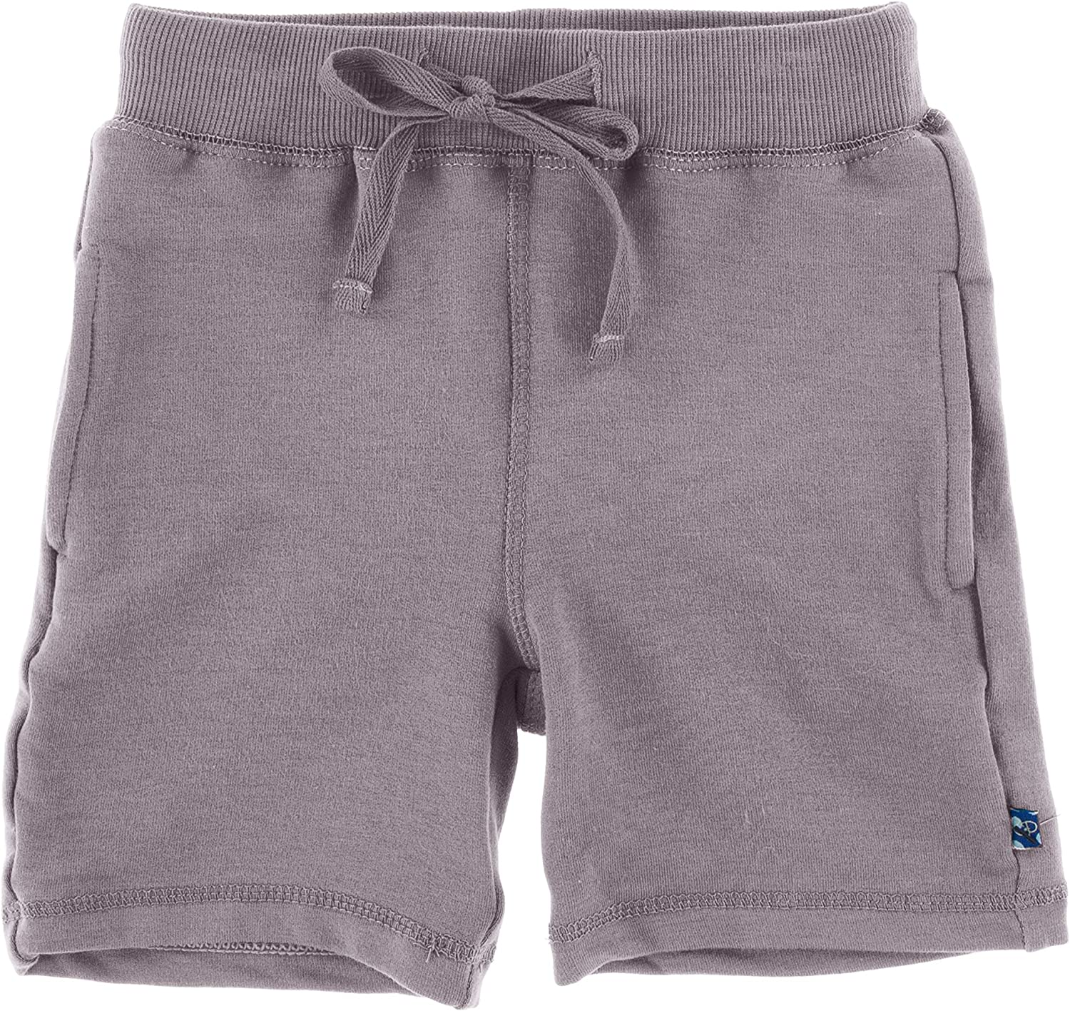 KicKee Pants Solid Fleece Sports Shorts, Easy Fit for All Day Wear