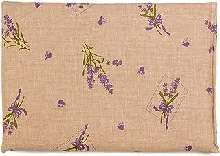 Almohada térmica de semillas 30x20cm campestre romantico | Saco térmico | Cojín de calor y frio | Cojín con semillas de lino
