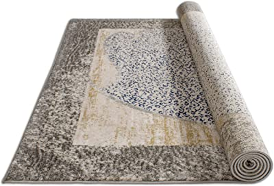 "Well Woven Mid-Century Orietta Modern Distressed Multi 3'11"" x 5'3"" Area Rug"