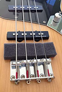 Spree compatible replacement for Lot of 3 bass guitar mutes, fits 4 and 5 string Fender Squier
