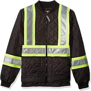 Work King Safety Men's Hi Vis Quilted Safety Jacket