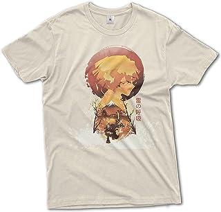 b&c Demon Slayer Kimetsu No Yaiba Zenitsu Agatsuma T-Shirt 100% Cotton