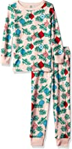 Gymboree Girls' Big 2-Piece Tight Fit Sleeve Long Bottoms Pajama Set