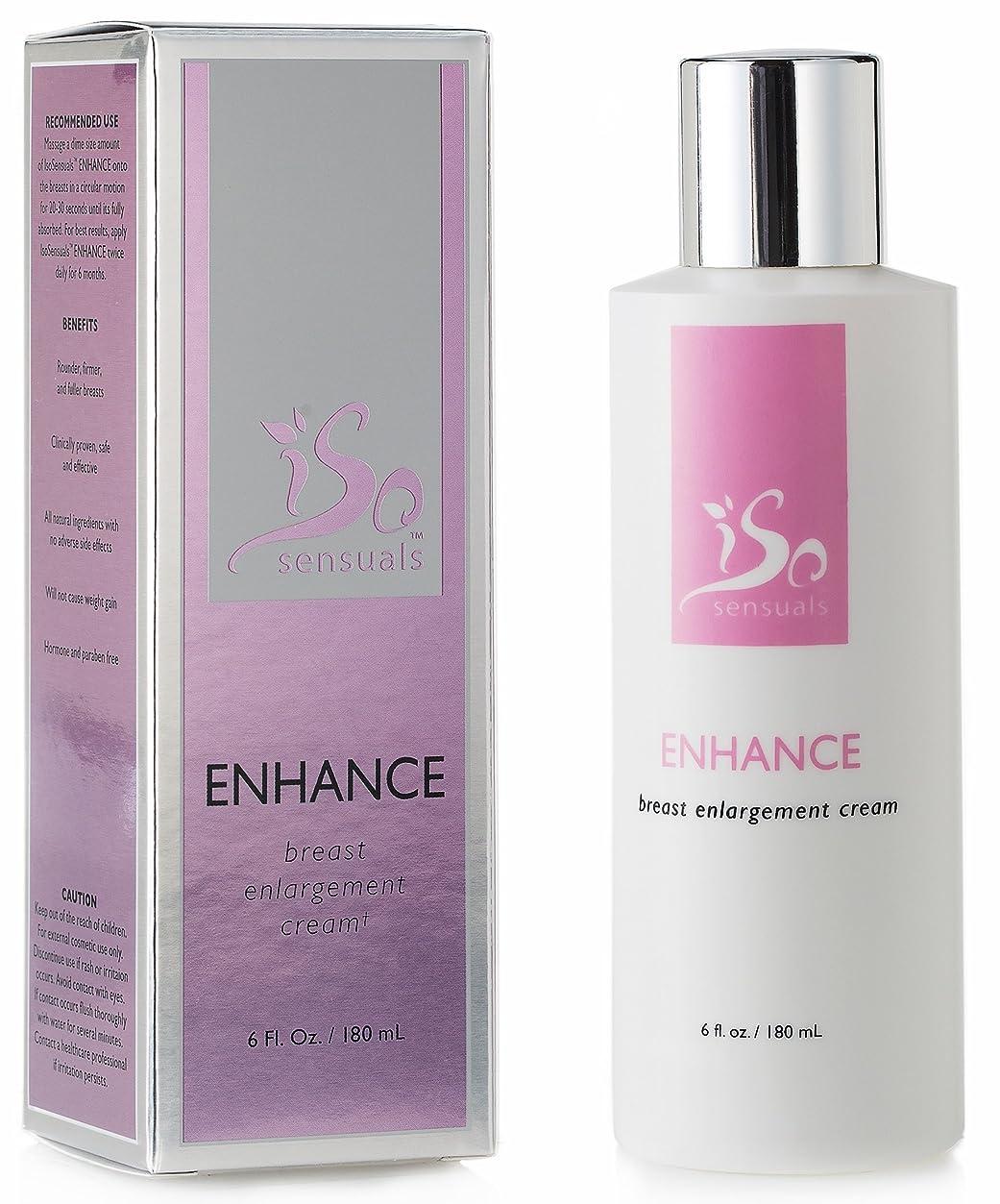 海岸スリッパ無駄なIsoSensuals ENHANCE - Breast Enlargement Cream - 1 Bottle