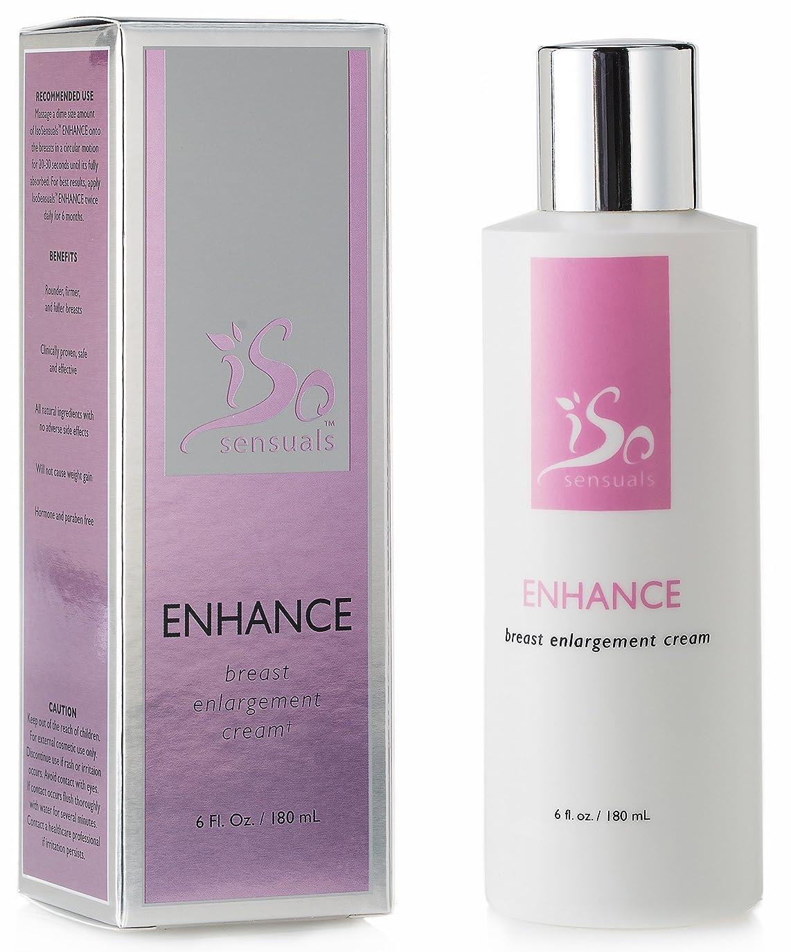 ブルーベル軽蔑家庭IsoSensuals ENHANCE - Breast Enlargement Cream - 1 Bottle