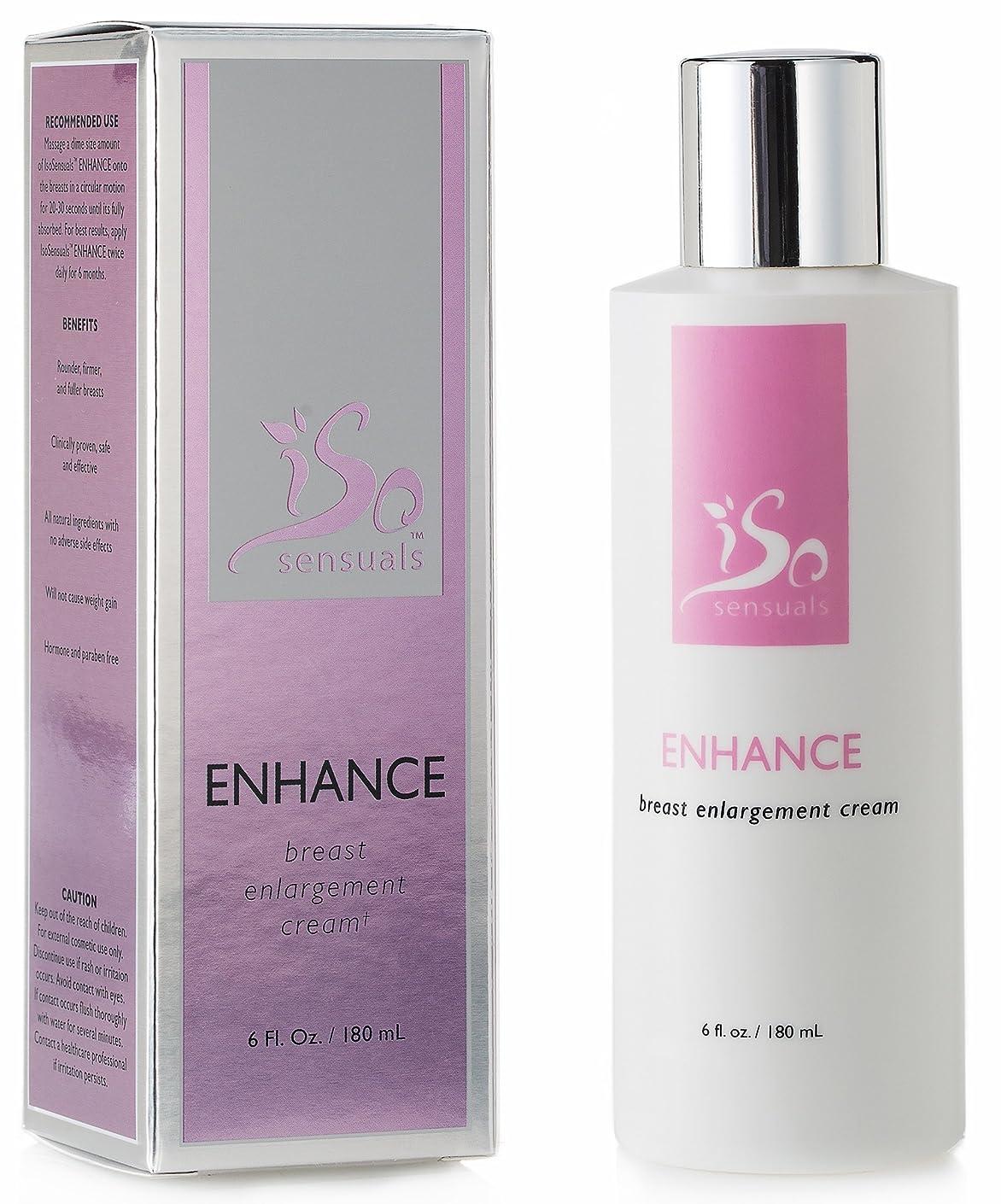 ビーム近似気をつけてIsoSensuals ENHANCE - Breast Enlargement Cream - 1 Bottle