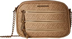 Triple Zip Signature Crossbody