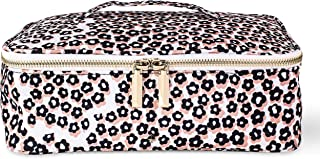 Kate Spade New York Women's Insulated Lunch Carrier with Double Zipper Close and Top Handle, Flair Flora