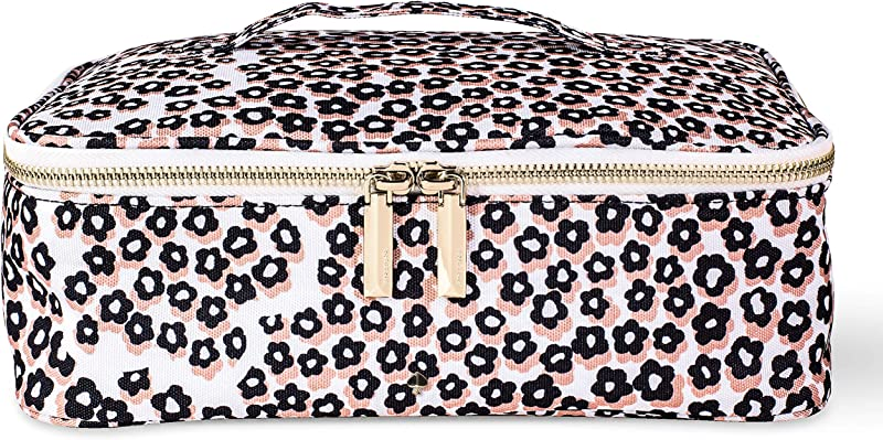Kate Spade New York Women S Insulated Lunch Carrier With Double Zipper Close And Top Handle Flair Flora