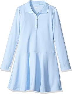 The Children's Place girls Long Sleeve Polo Dress Dress