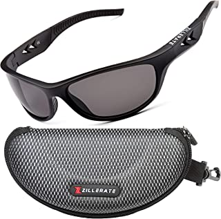 TR90 Polarized Sports Sunglasses, Running Golf Driving...
