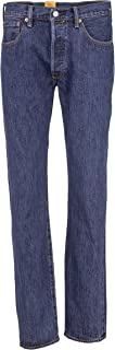 Levi's 501 Original Fit Dark Stonewash Düz Kesim Kot Pantolon Erkek