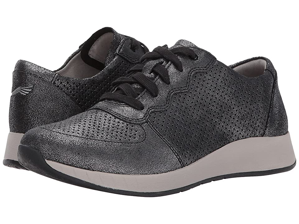 Dansko Christina (Black Metallic Suede) Women