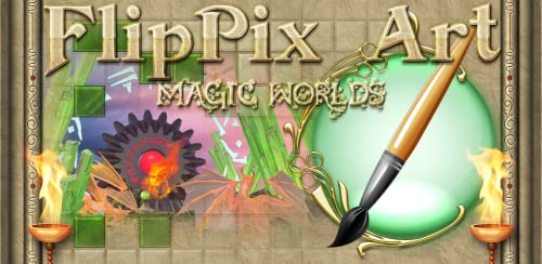 『FlipPix Art - Magic Worlds』のトップ画像