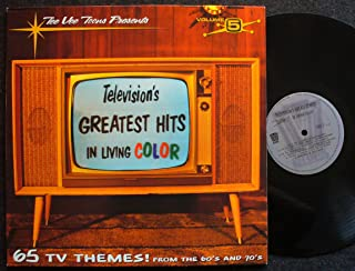 Tee Vee Toons Presents Television's Greatest Hits In Living Color / 65 TV Themes! from the '60's & '70's; Volume 5