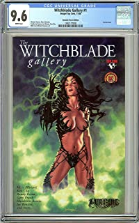 Witchblade Gallery #1 CGC 9.6 White Pages 1992177008 DF Edition