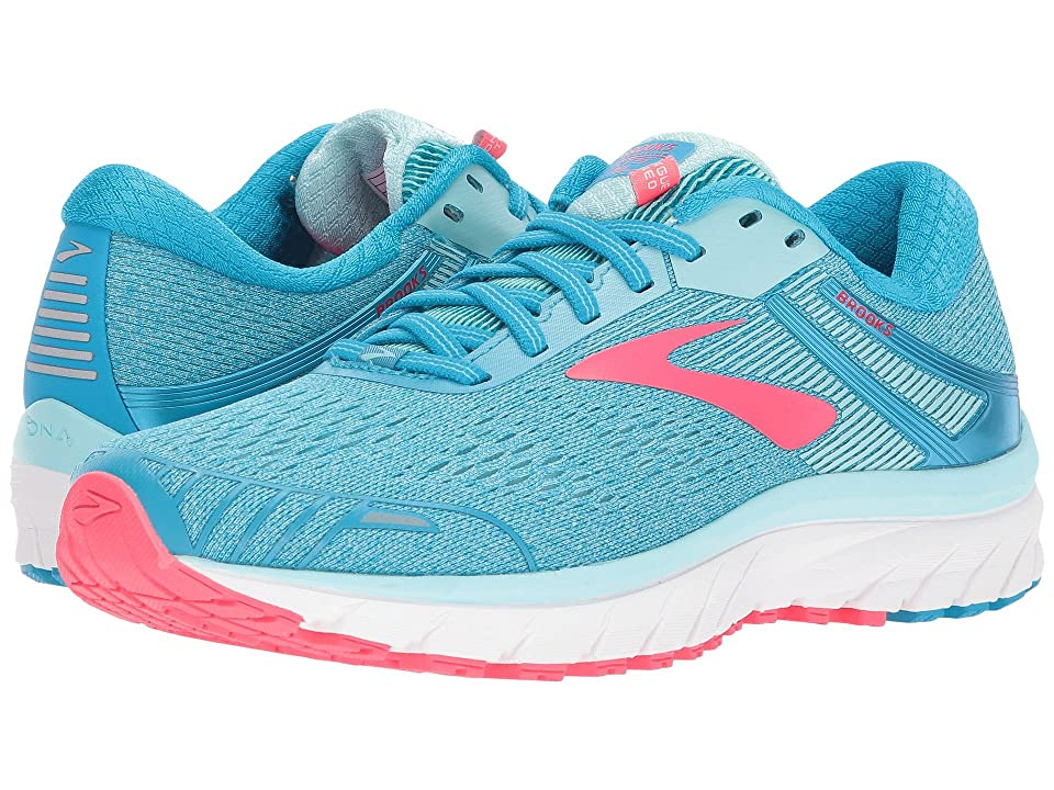 Brooks Adrenaline GTS 18 (Blue/Mint/Pink) Women