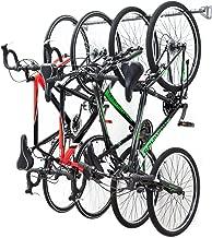 Monkey Bars Garage Bike Rack - Stores 4 Bikes - Heavy Duty Garage Bike Storage