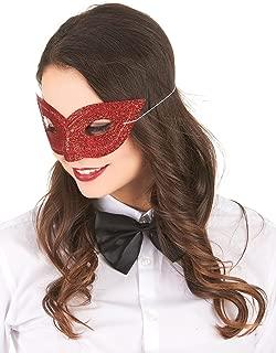 Masque de Venise Vénitien Colombina Adulte Smiffys Costume Robe Fantaisie Accessoire